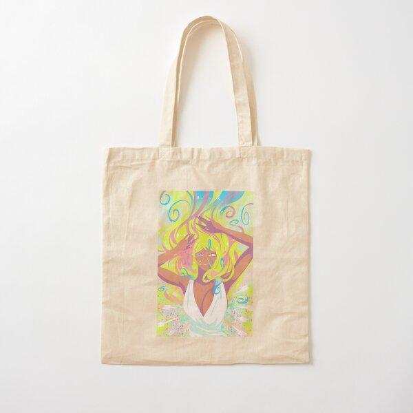 Whimsical Burst Cotton Tote Bag