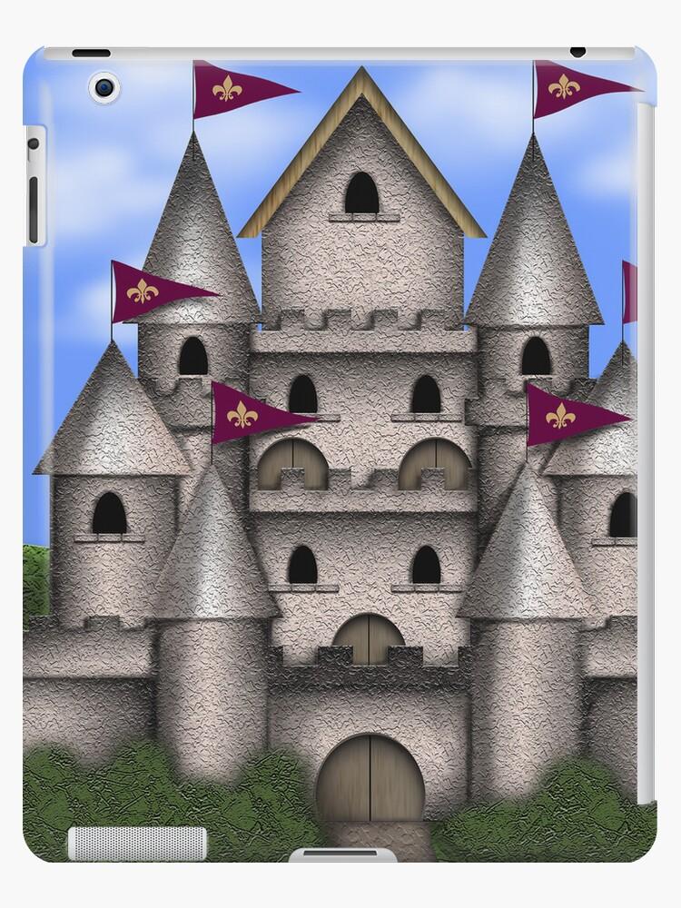 The Castle iPad Case by CheriesArt