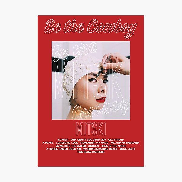 Mitski - Be The Cowboy Photographic Print