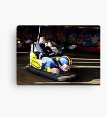 BUMPER CARS . Canvas Print