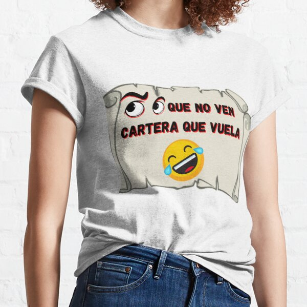 Eyes that do not see Wallet that flies Classic T-Shirt