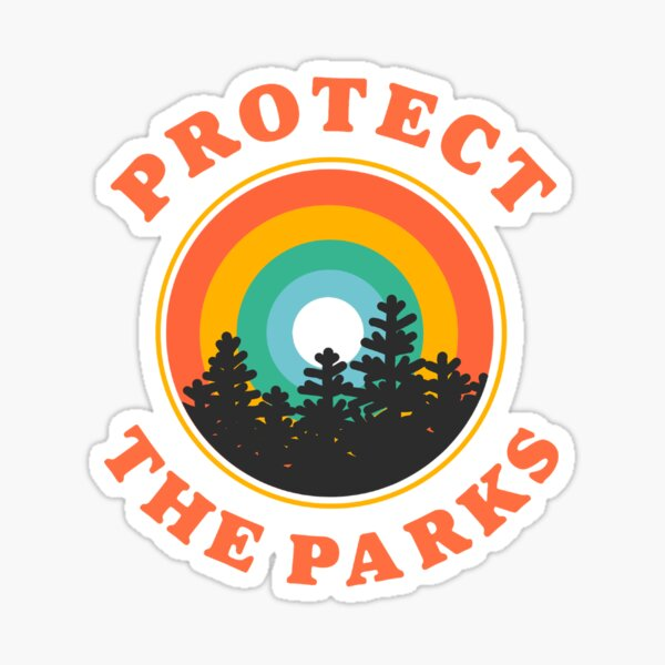 protect the parks Sticker