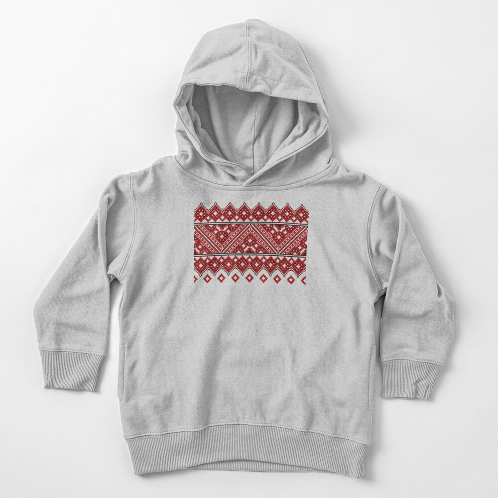 #Ukrainian #Embroidery, #CrossStitch, #Pattern Toddler Pullover Hoodie