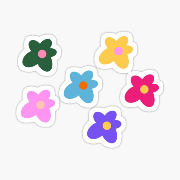 Golf Wang Flowers Tyler the Creator Set Sticker
