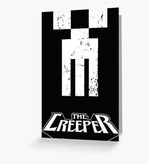 The Creeper Greeting Card