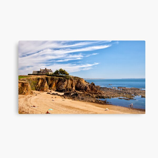 Beach View, Brittany 2012 Metal Print