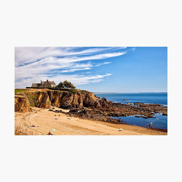 Beach View, Brittany 2012 Photographic Print