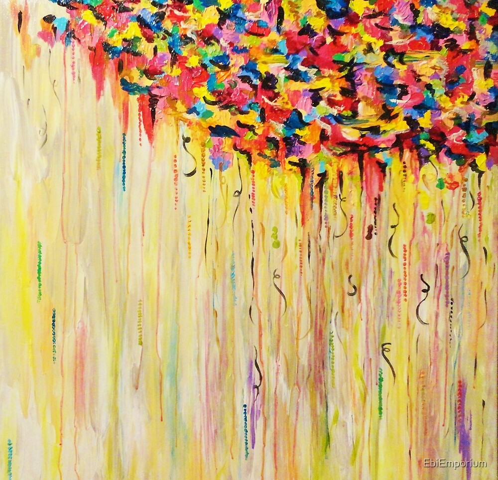 Quot Raining Sunshine Bold Bright Sunny Colorful Rain Storm