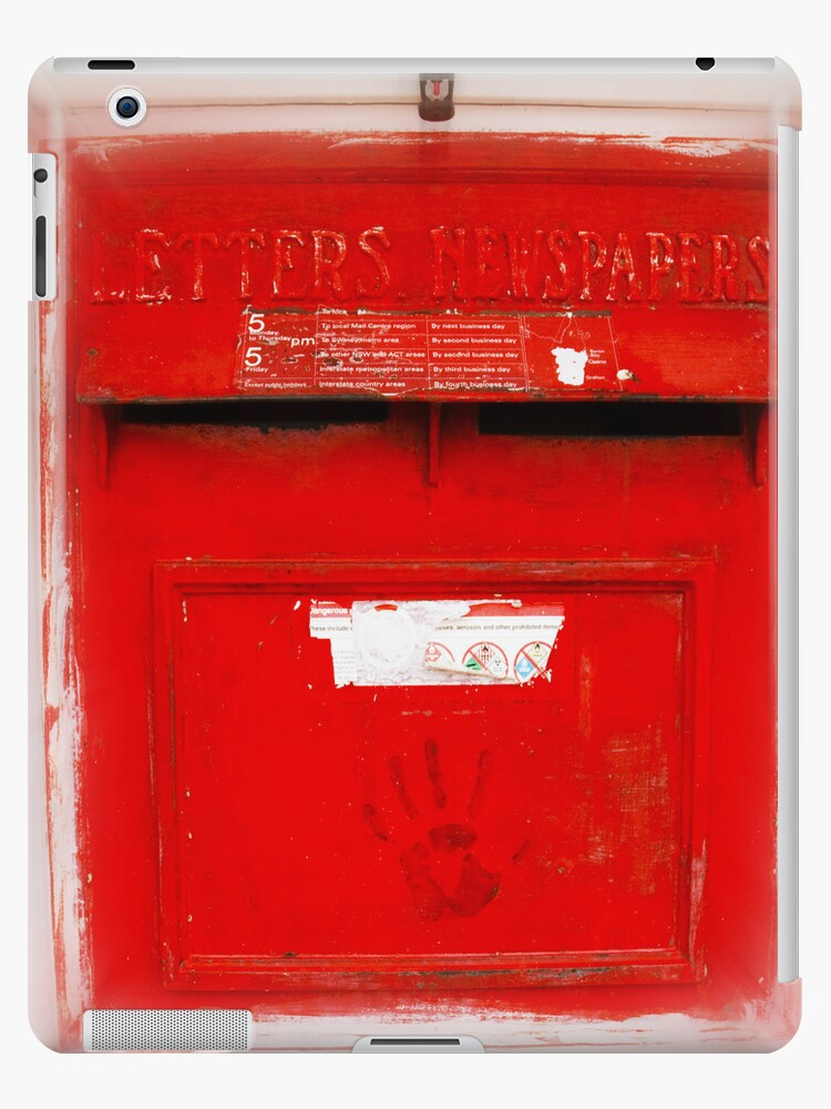 Letterbox - IPad Case by Sandro Rossi Imagery