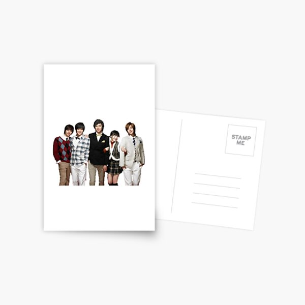 Boys over flowers intro Postcard