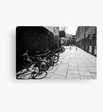 City Cycles Metal Print
