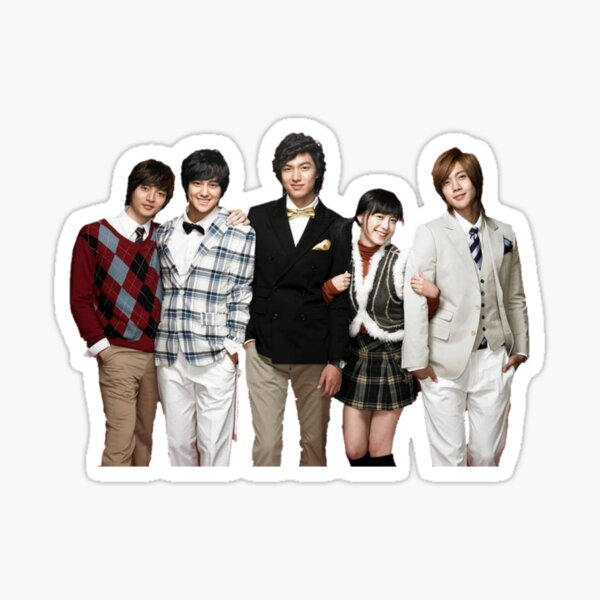 Boys over flowers intro Sticker
