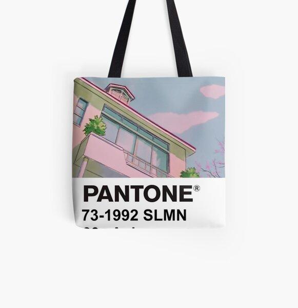 PANTONE 90s Anime All Over Print Tote Bag