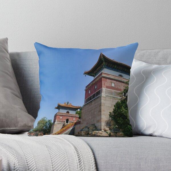 Longevity Hill (万寿山; 萬壽山; Wànshòu Shān) Beijing China Throw Pillow