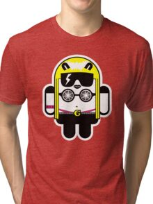 Lady Gaga goes Google Android Style!  Tri-blend T-Shirt