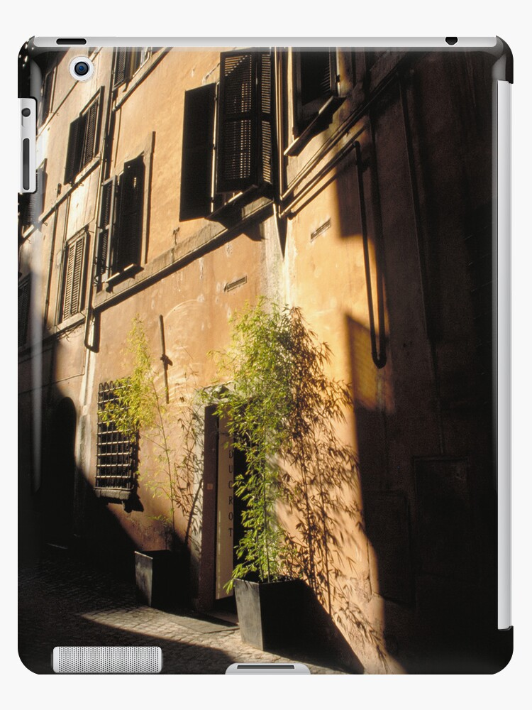 Trastevere -Ipad case by Sandro Rossi Imagery