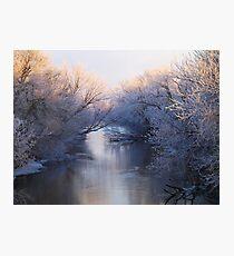 Vermillion Chill Photographic Print