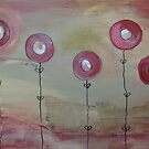 Modern poppies #1 by selenasmith