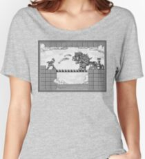 Super Mario Final Koopa Vintage Engraving Women's Relaxed Fit T-Shirt