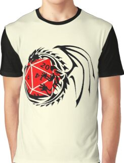 Dungeons and Dragons - Black and Red! Graphic T-Shirt