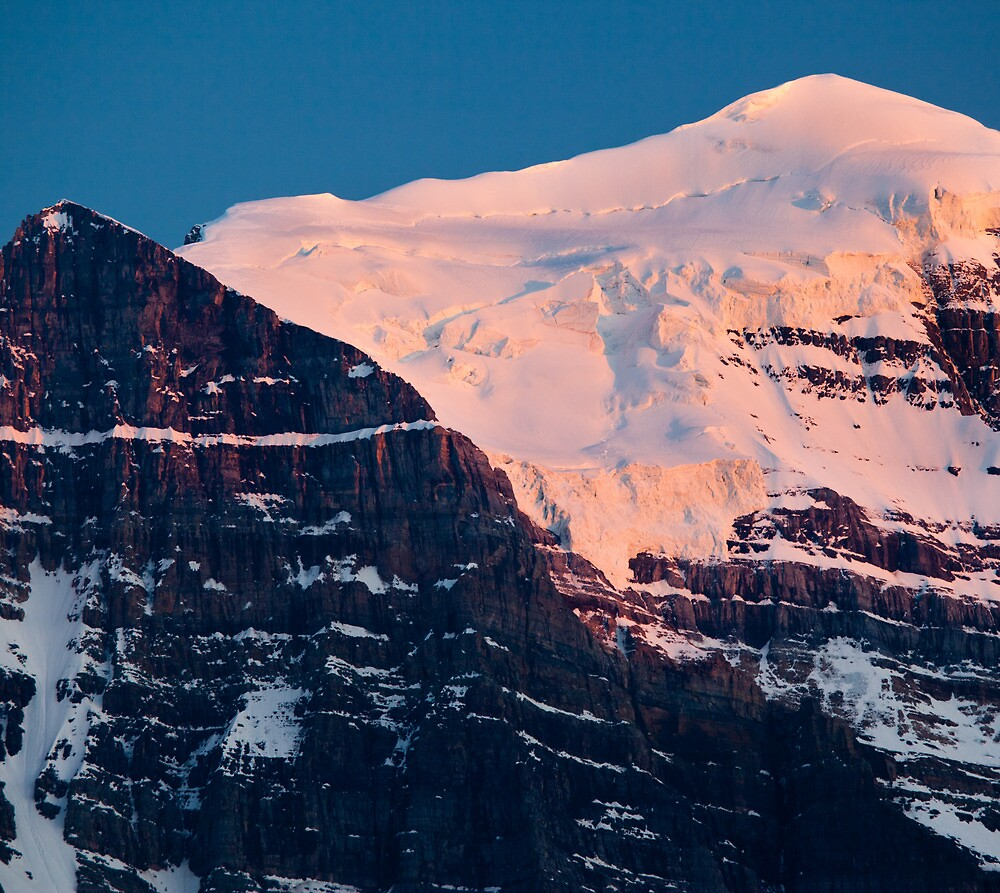 Mt Temple, Lake Louise, AB by Andy Townsend