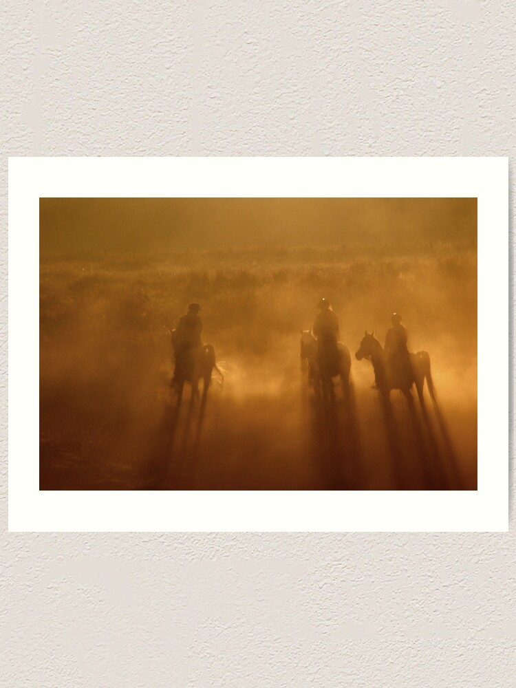 Alternate view of Riders in the Dawn Art Print