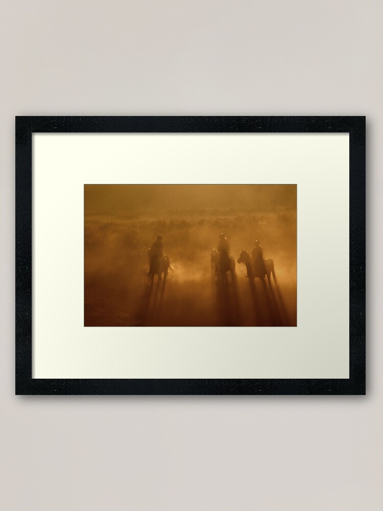 Alternate view of Riders in the Dawn Framed Art Print