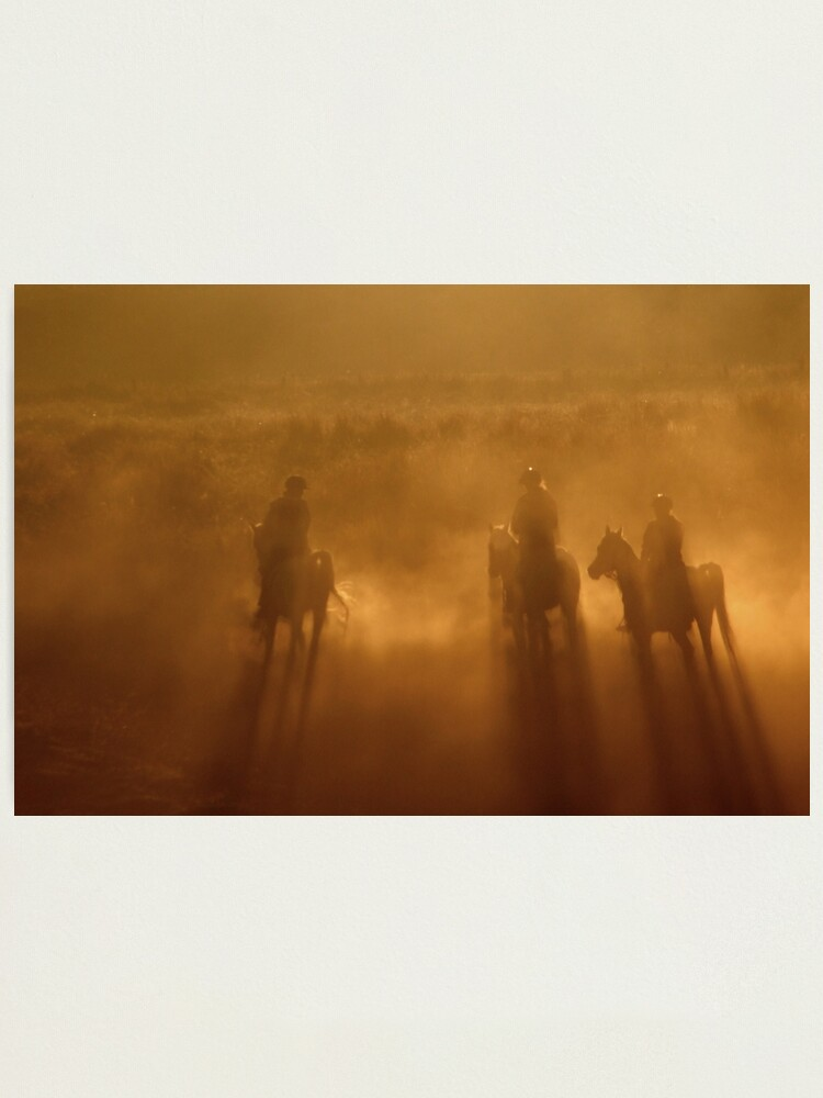 Alternate view of Riders in the Dawn Photographic Print