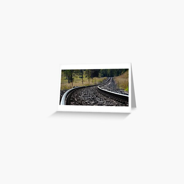 Rural Rails Greeting Card