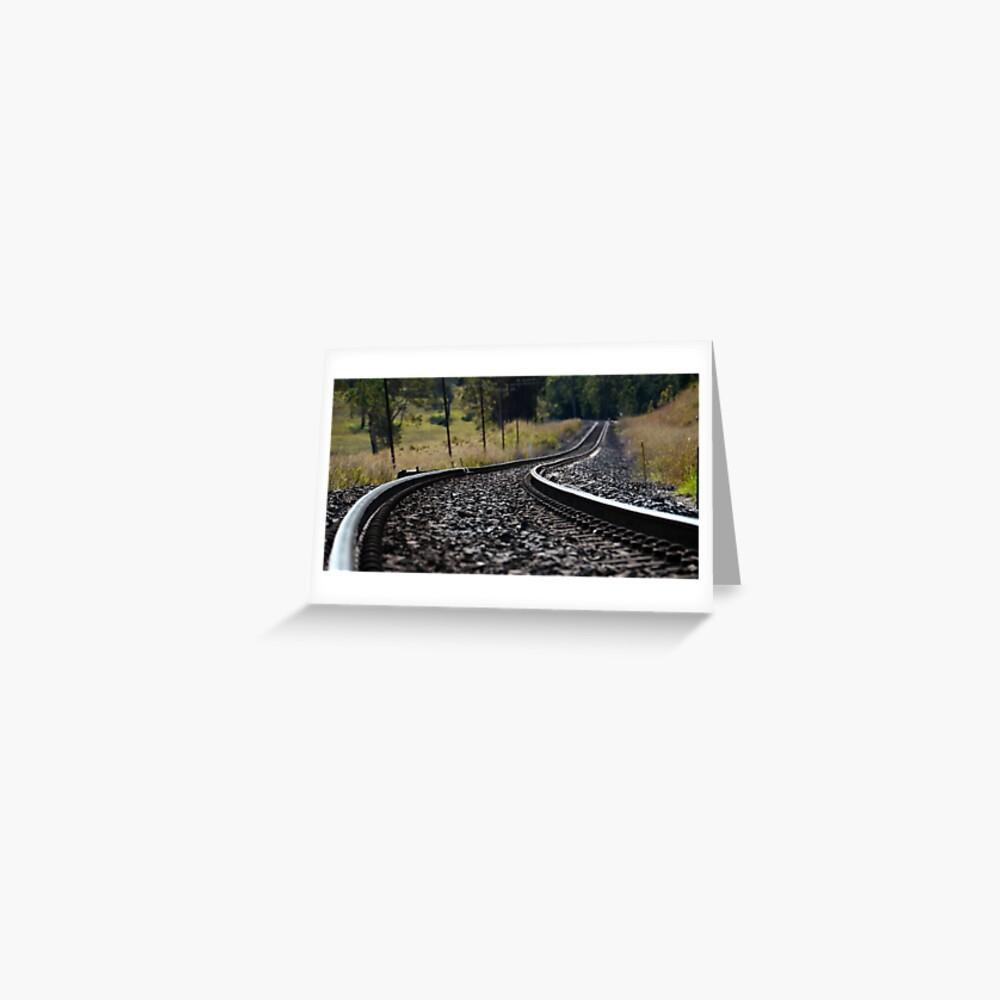 Rural Rails Greeting Card