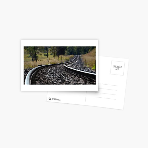 Rural Rails Postcard