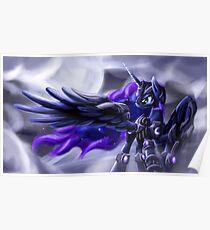 Warrior Luna Poster