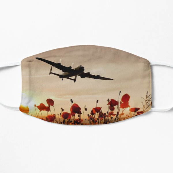 Over the fields they flew Avro Lancaster Bomber Mask