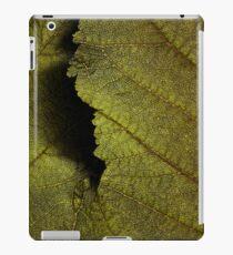 Leaf texture iPad Case/Skin