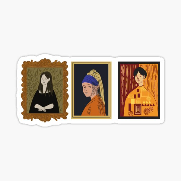 Art Hoe- Art Museum Sticker