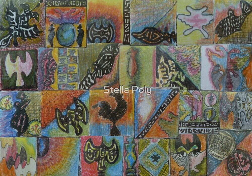 Feelings tile by Stella Poly