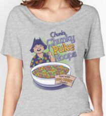 Chunk's Chunky Puke Hoops Women's Relaxed Fit T-Shirt
