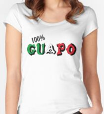 100% Guapo Women's Fitted Scoop T-Shirt