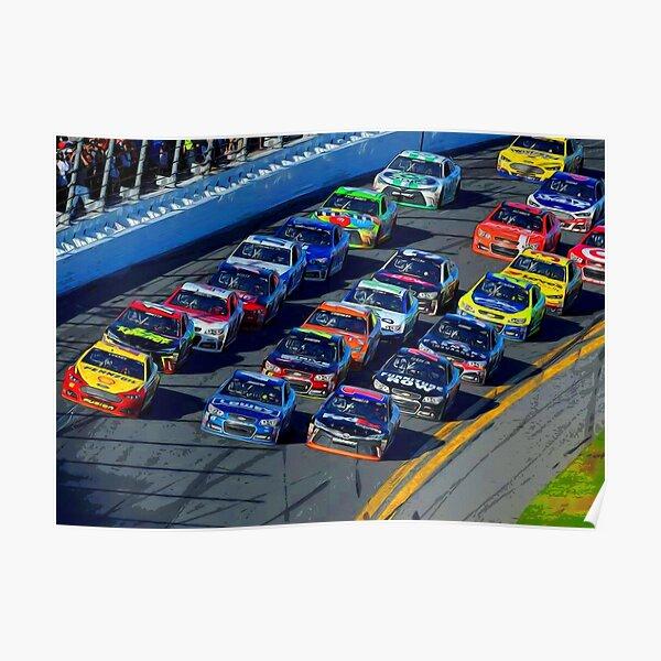 Nascar Sprint Daytona 500 start Poster