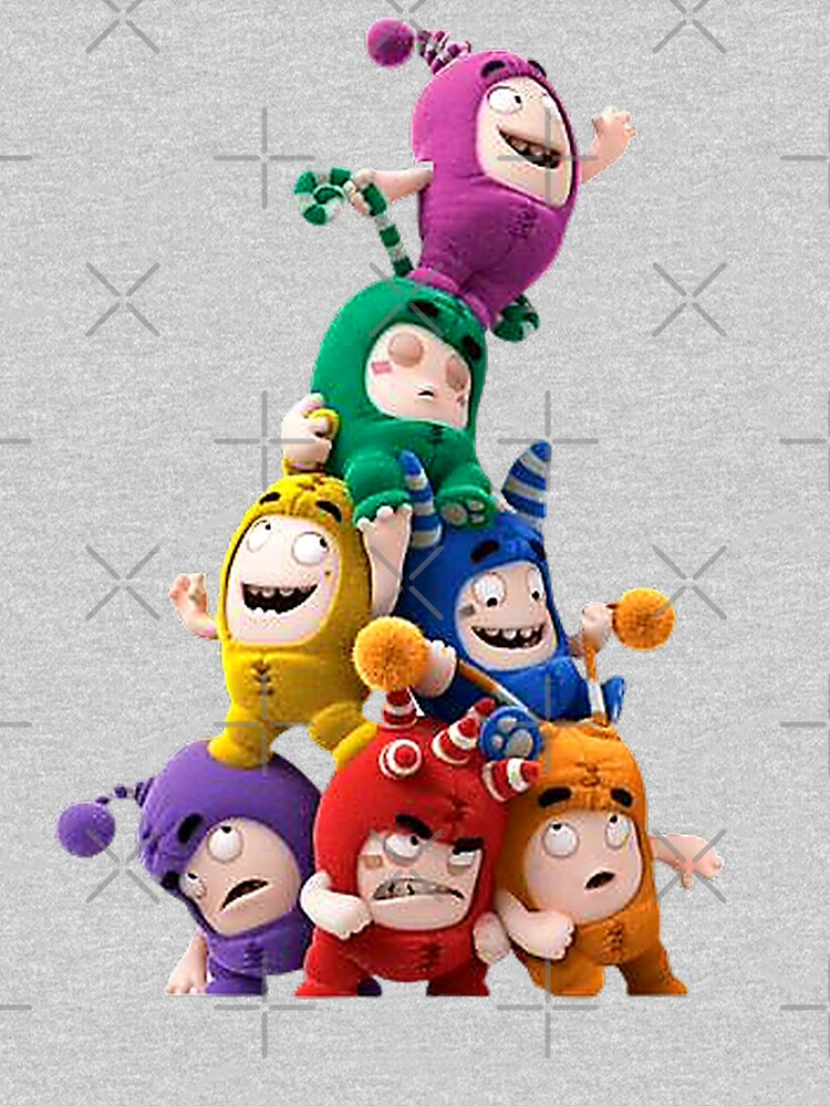Oddbods happy birthday by StefaniaAlina