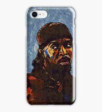 Omar Little by VanGogh - www.art-customized.com iPhone Case/Skin