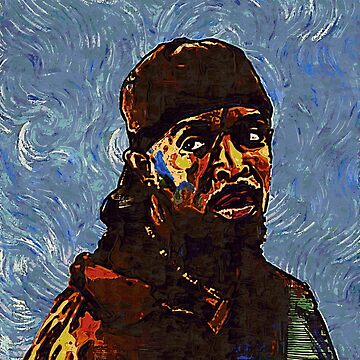 Omar Little by VanGogh - www.art-customized.com by art-customized