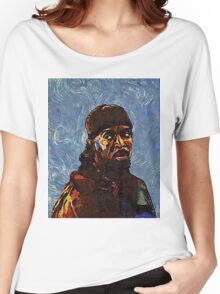 Omar Little by VanGogh - www.art-customized.com Women's Relaxed Fit T-Shirt