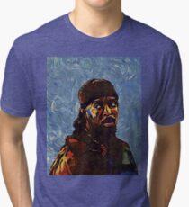 Omar Little by VanGogh - www.art-customized.com Tri-blend T-Shirt