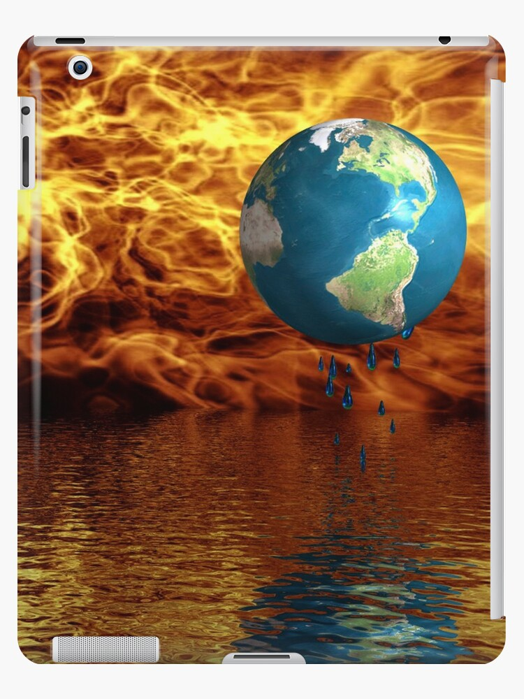 Global Warming IPad Case by jewelskings
