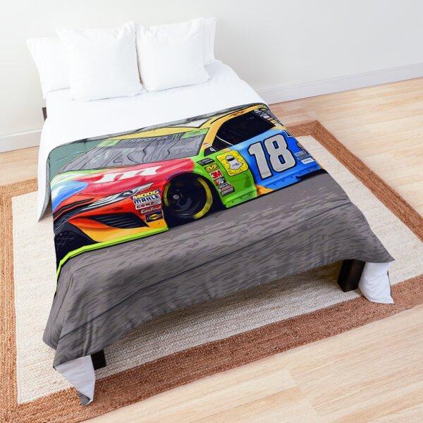 Kyle Busch racing 2018 Comforter