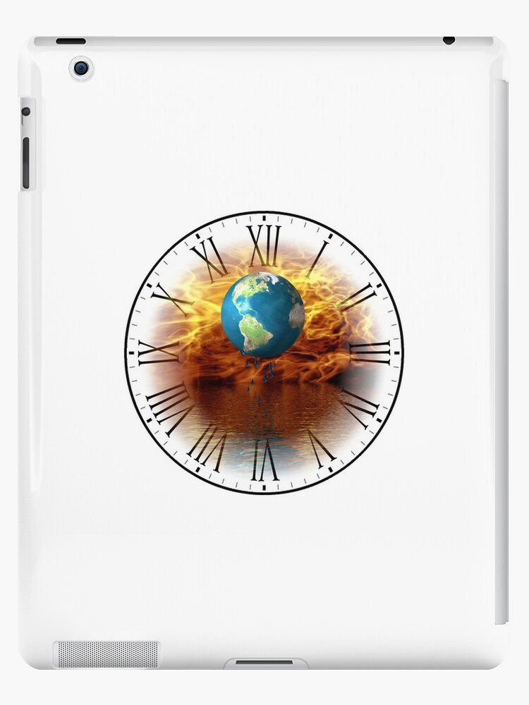 Global Warming IPad Case 2 by jewelskings