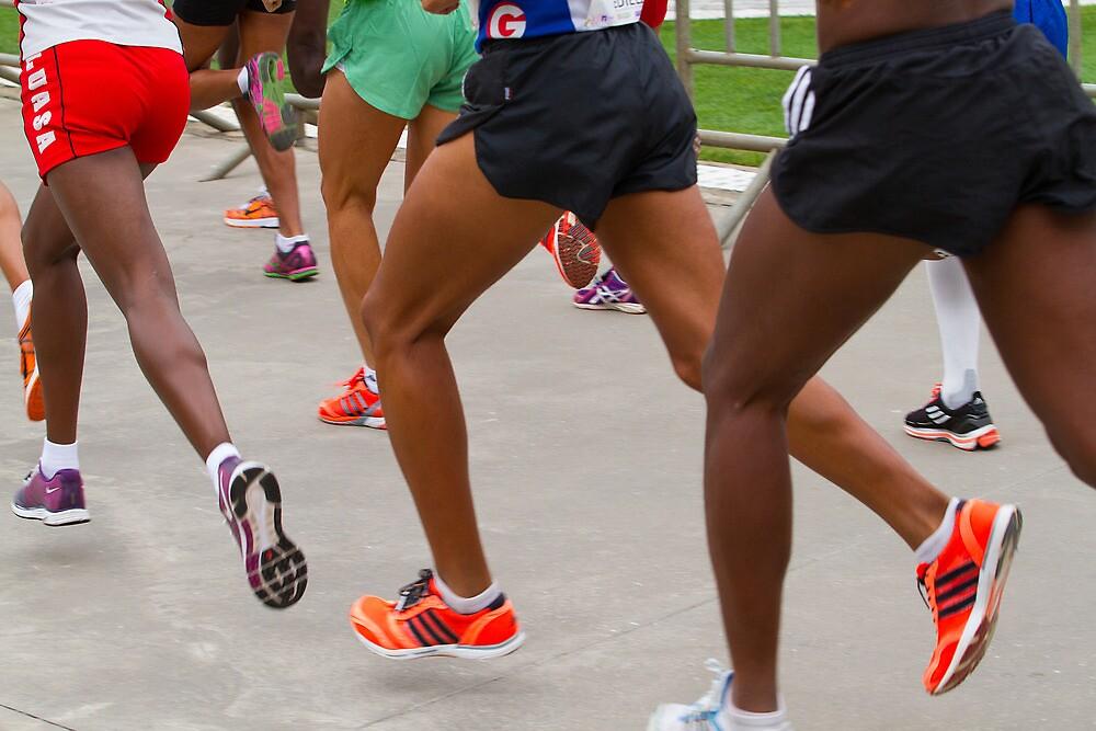 Runners [ Print & iPad / iPod / iPhone Case ] by Mauricio Santana