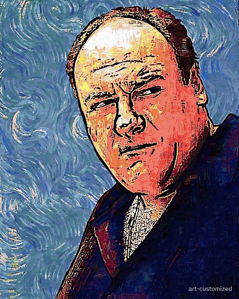 Tony Soprano by VanGogh - www.art-customized.com by art-customized