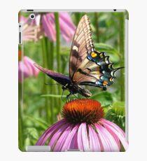 papillon sur la fleur iPad Case/Skin